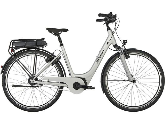 Diamant Achat Super Deluxe+ T E-citybike Easy Entry grå/sølv